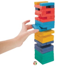 IS Gifts: Tumbling Tower - Coloured image