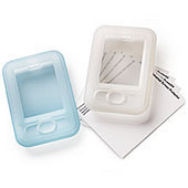 Palm Z22 Flexi Soft Case (2 Pack - Blue & White)