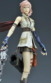 Final Fantasy XIII Play Arts Kai Action Figure - Lightning