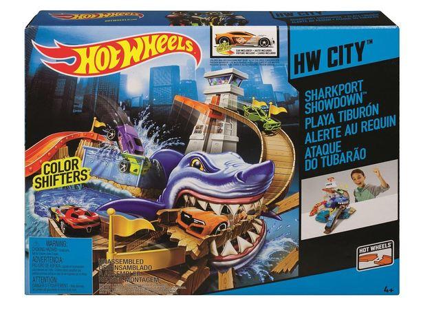 Hot Wheels: Colour Shifters - Shark Showdown Playset