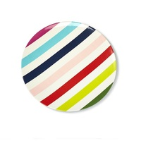 Kate Spade Melamine Dinner Plate (Multi Stripe)