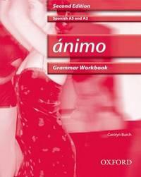 Animo: Grammar Workbook & CD by Carolyn Burch image