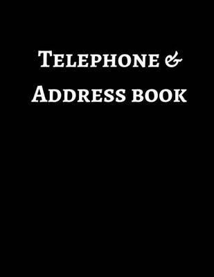 Telephone & Address Book by Mahtava Journals