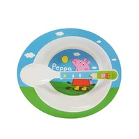Peppa Pig Bowl and Spoon