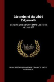 Memoirs of the ABBE Edgeworth by Henry Essex Edgeworth De Firmont image