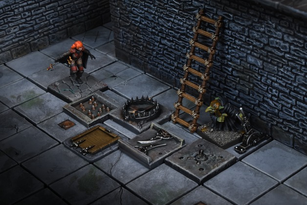 TerrainCrate: Dungeon Traps