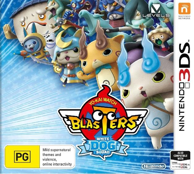 Yo-Kai Watch Blasters White Dog Squad for Nintendo 3DS