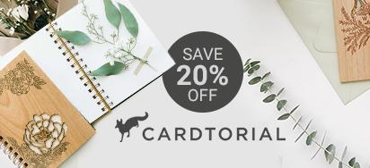 20% off Cardtorial!
