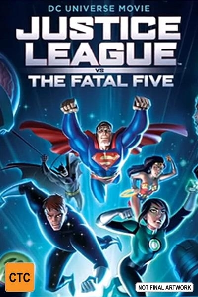 Justice League: Fatal Five on DVD image