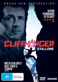 Cliffhanger on DVD