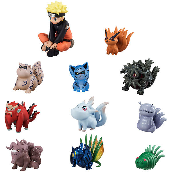 Naruto: Naruto & Bijyu - Mini Figure Set (11pcs)