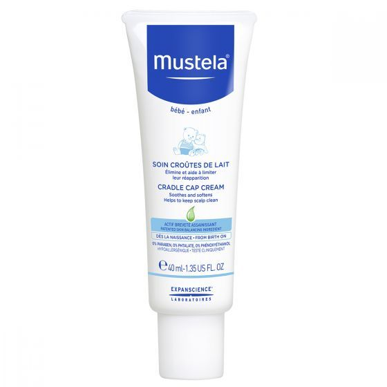 Mustela: Cradle Cap Cream - 40ml