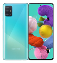 Samsung: Galaxy A51 (128GB/8GB RAM) - Prism Crush Blue image