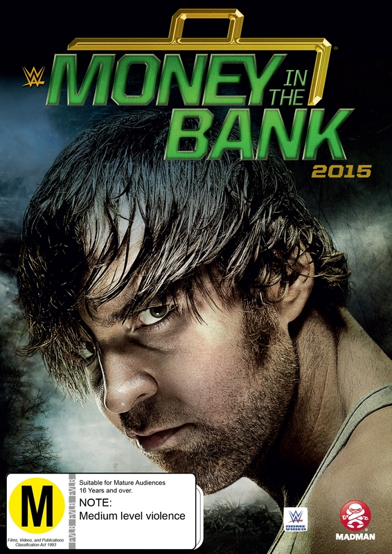 WWE Money In The Bank 2015 on DVD