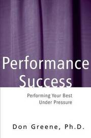 Performance Success by Don Greene image
