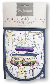 Cooksmart Double Oven Gloves - Top Cats image