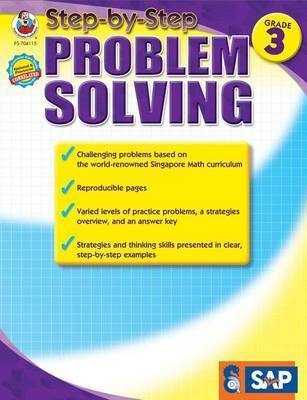 Step-By-Step Problem Solving, Grade 3