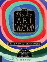 Make Art Every Day by Katie Vernon image