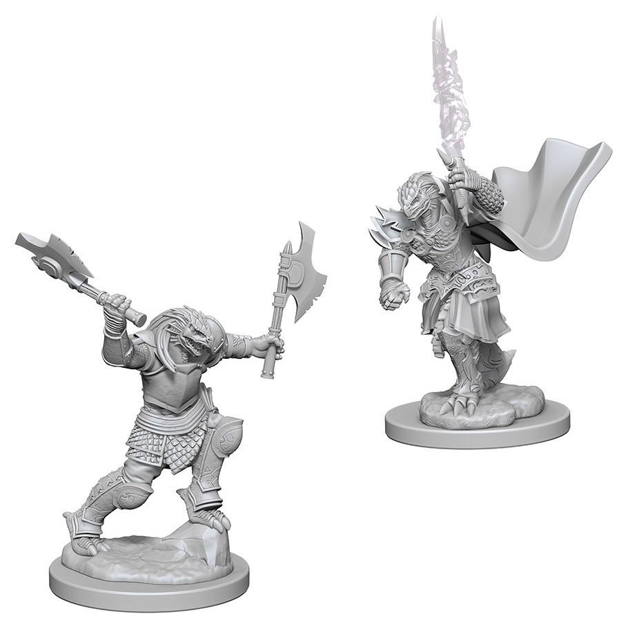 D&D Nolzur's Marvelous: Unpainted Miniatures - Dragonborn Female Fighter image