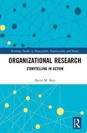 Organizational Research by David M Boje