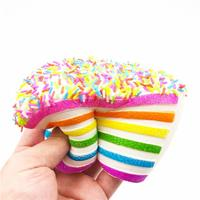 I Love Squishy: Cake Slice Squishie Toy (14cm)
