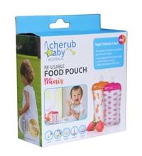 Cherub: Reuseable Food Storage Mini Pouches (20 Pack)