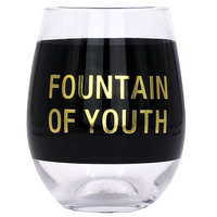 Wine Glass: Fountain Of Youth