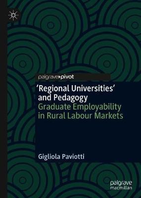'Regional Universities' and Pedagogy by Gigliola Paviotti