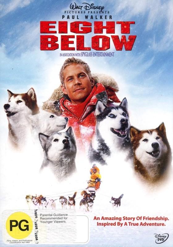 Eight Below (aka Antarctica) on DVD