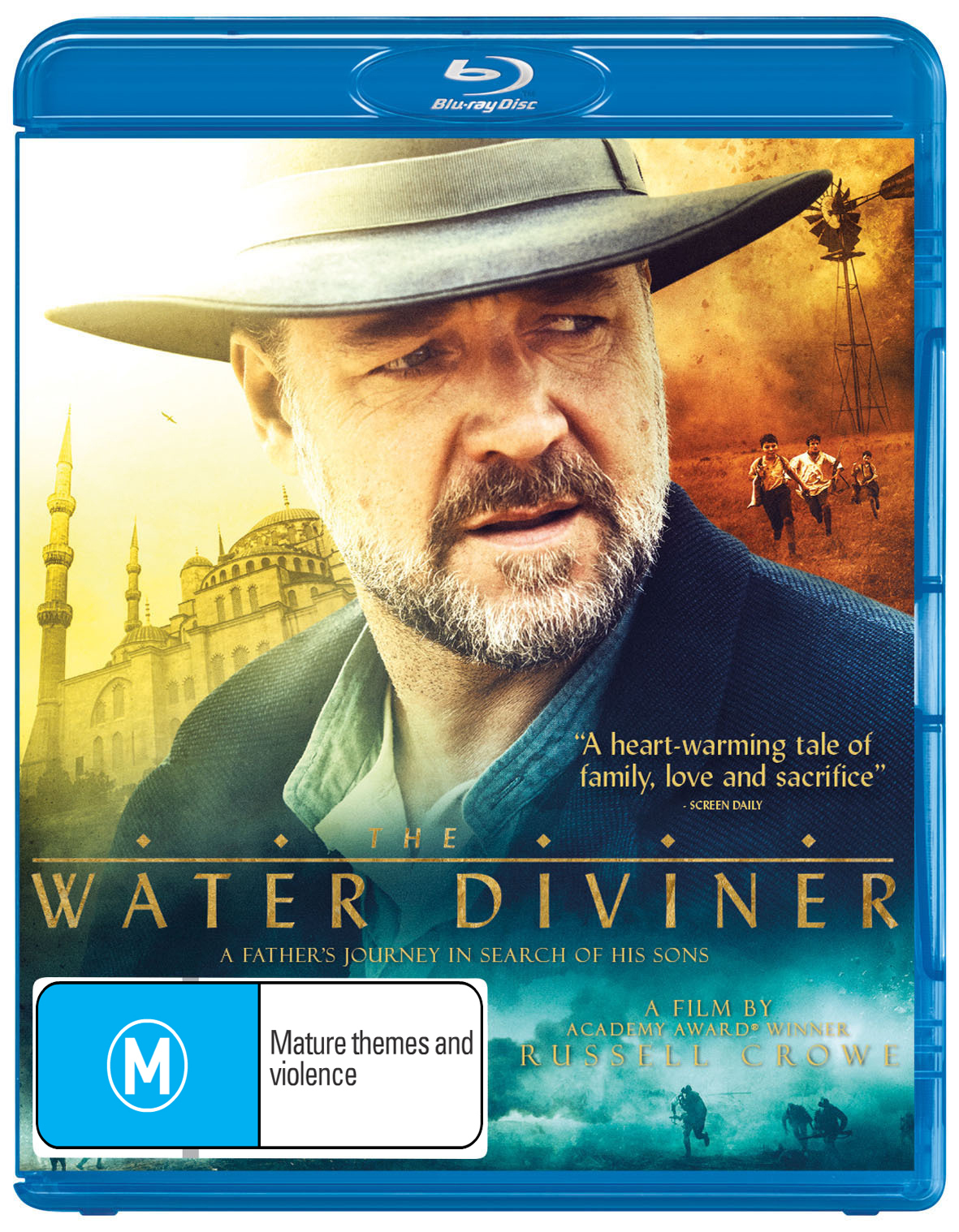 The Water Diviner on Blu-ray image