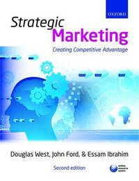 Strategic Marketing: Creating Competitive Advantage by Douglas West image