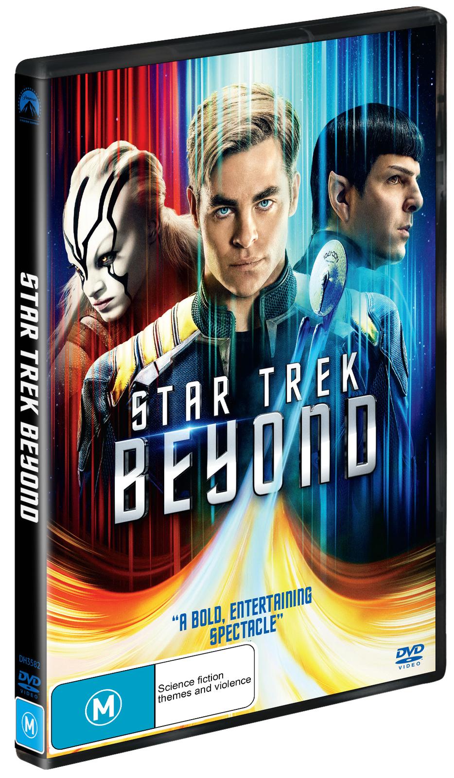 Star Trek Beyond on DVD image