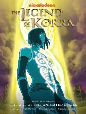 The Legend of Korra: Book four by Michael Dante DiMartino image