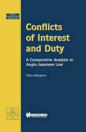 Conflicts of Interest and Duty by Chizu Nakajima