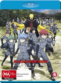 Assassination Classroom - Season 2: Part 2 (Eps 14-25) on Blu-ray