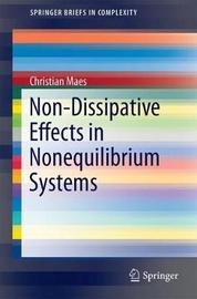 Non-Dissipative Effects in Nonequilibrium Systems by Christian Maes image