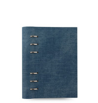 Filofax - Personal Patterns Clipbook - Denim