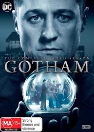 Gotham - The Complete Third Season on DVD