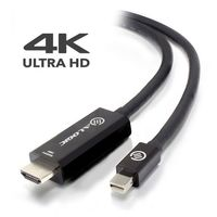 Alogic Elements Active 2m Mini Displayport To Hdmi Cable With 4k@60hz Support Male To Male