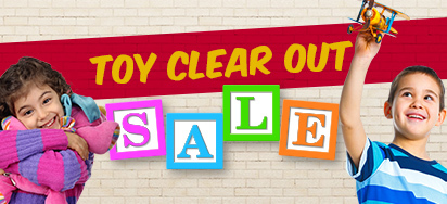 Toy Clear Out Sale!