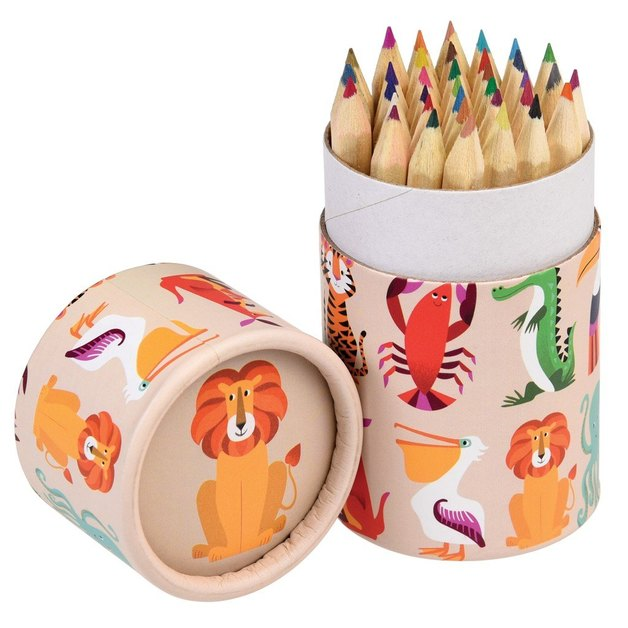 Colourful Creatures Coloured Pencils (Set of 36)