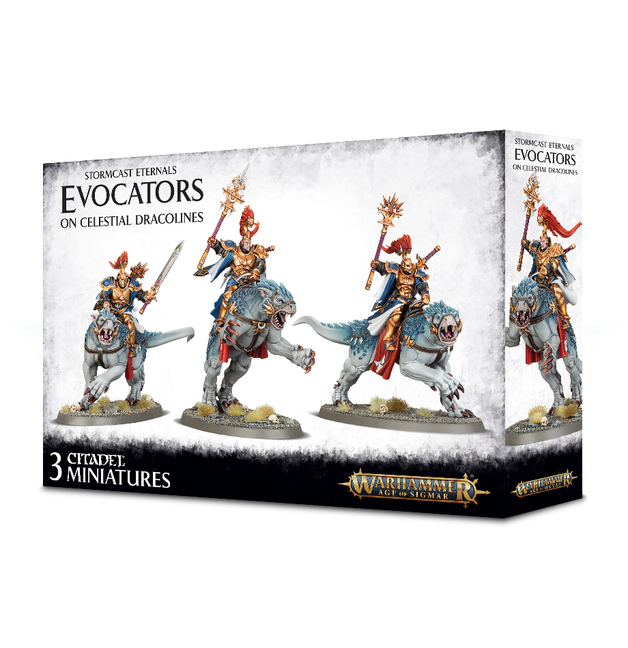 Warhammer Age of Sigmar: Stormcast Eternals - Evocators on Celestial Dracolines