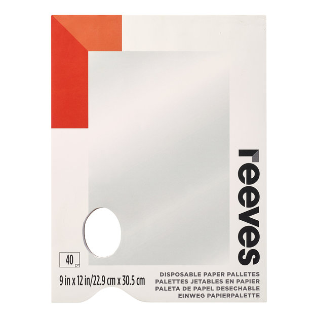 Reeves Tear Off Palettes - 9''x12''