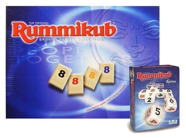 Rummikub Classic Edition - Includes Bonus Rummikub Express Set