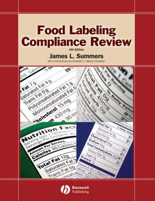 Food Labeling Compliance Review by James L Summers image