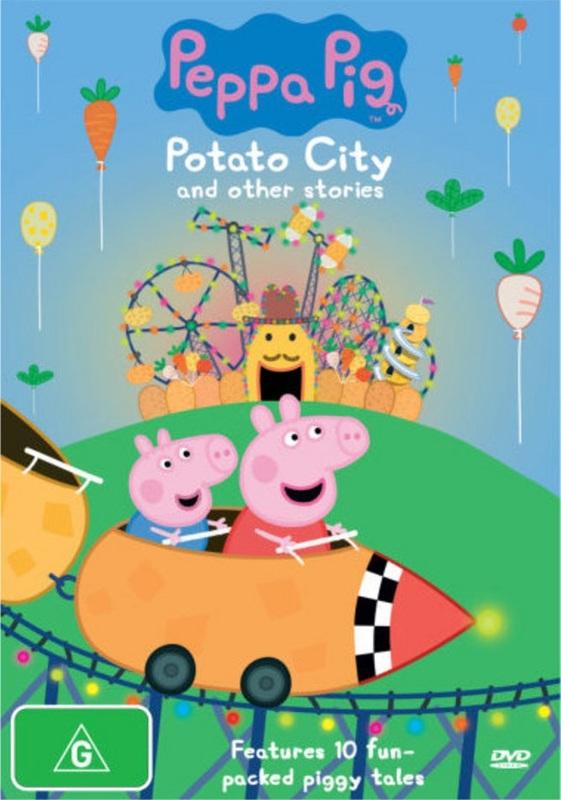 Peppa Pig: Potato City on DVD