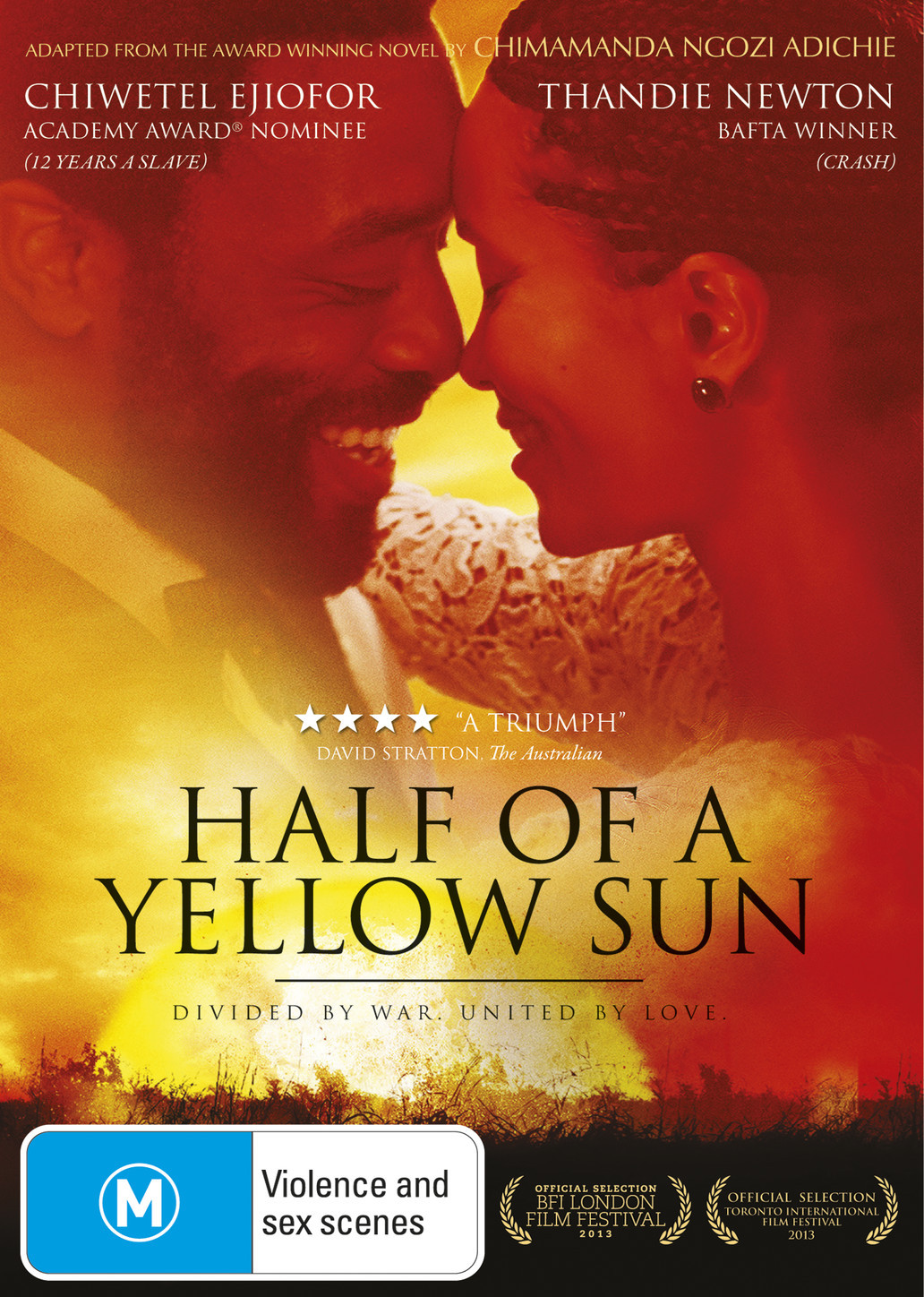 Half of a Yellow Sun on DVD image