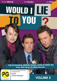 Would I Lie To You? Volume 2 on DVD