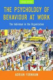 The Psychology of Behaviour at Work by Adrian Furnham image