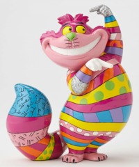 Romero Britto: Cheshire Cat - Medium Figurine